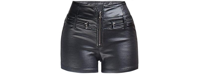 Кой стил кожени къси панталони да изберете?