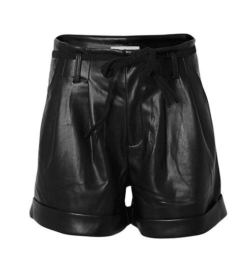 кожени къси панталони