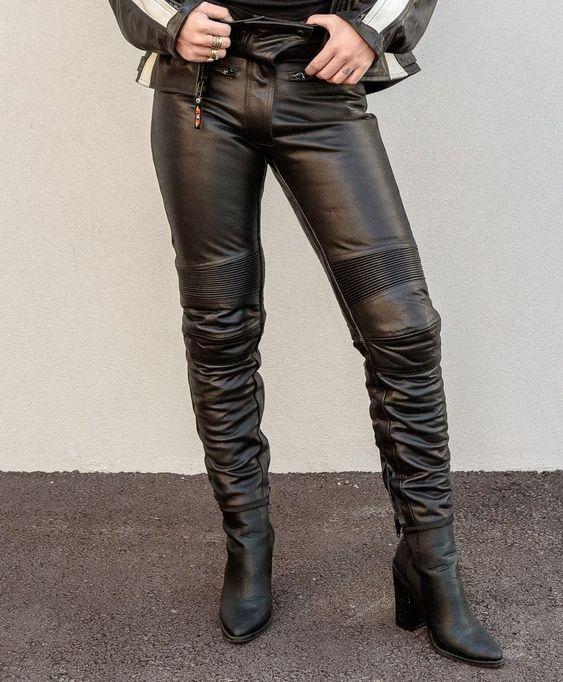 кожени панталони за мотористи